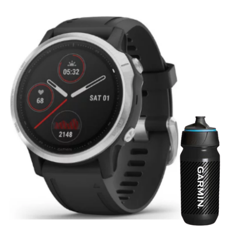 [INN03398] Combo SmartWatch Garmin Fenix 6S + Botella Garmin Carbon 500 ML