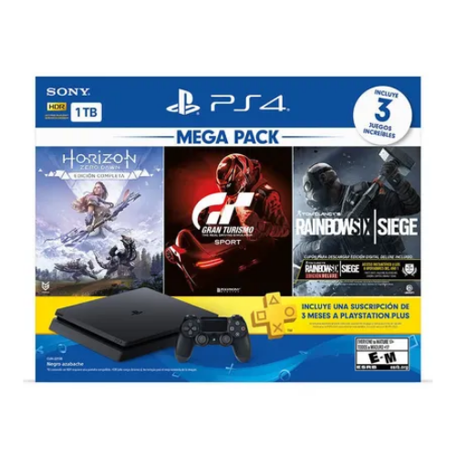 [INN04039] Consola Sony PlayStation 4 Slim MegaPack 16