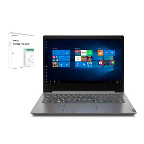 "[INN04418] Combo Laptop Lenovo 82C40114GJ 14"" + Licencia Microsoft Office Professional 2019 1 PC"