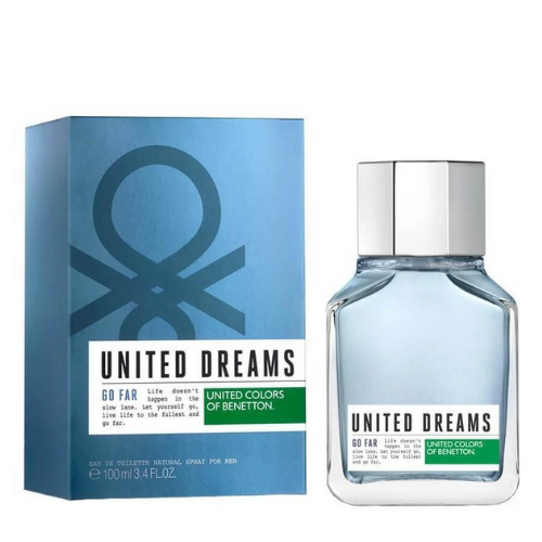 [INN04493] Colonia Benetton United Dreams Go Far 100 ML Hombre