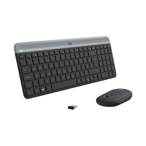 [INT3899] Set Teclado y Mouse Logitech Slim MK470
