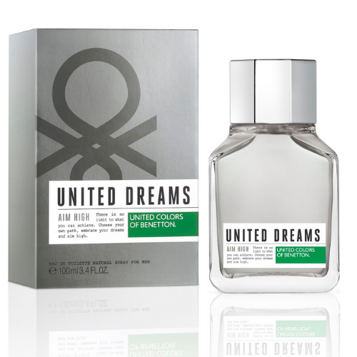 [INN01315] Colonia Benetton United Dreams Aim High 100 ML Hombre