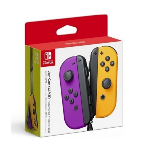 [INN0666] Control Nintendo Switch Joy-Con Morado-Naranja