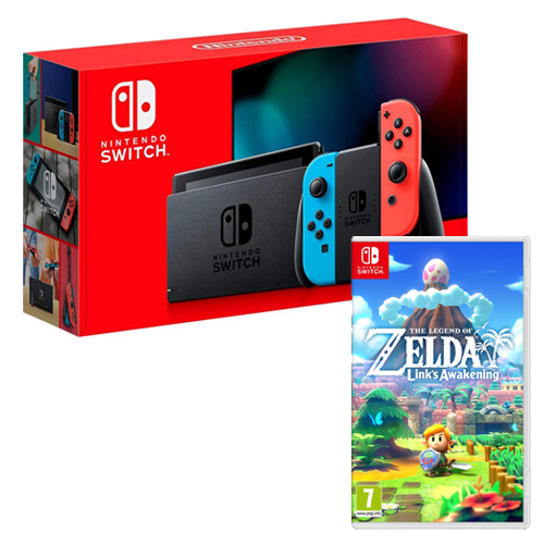 [INN0757] Combo Consola Nintendo Switch 2.0 + The Legend Of Zelda Links Awakening