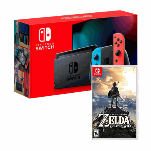 [INN0759] Combo Consola Nintendo Switch 2.0 + The Legend of Zelda Breath of the Wild