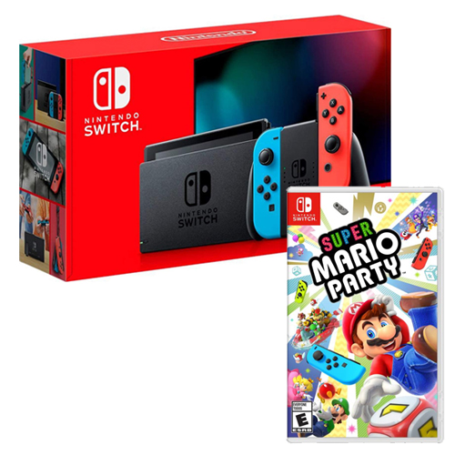 [INN0760] Combo Consola Nintendo Switch 2.0 + Super Mario Party