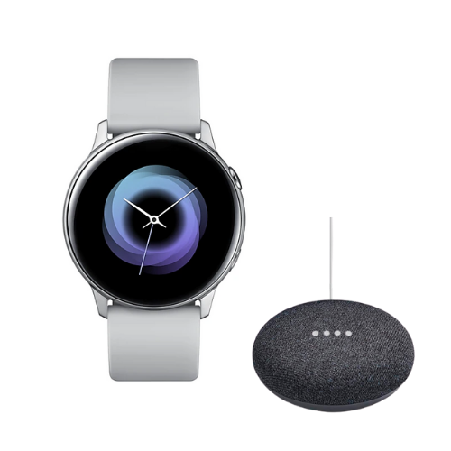 [INN01629] Combo SmartWatch Samsung Galaxy Watch Active 39.5mm + Parlante Google Home Mini